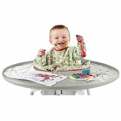 Tidy Tot Baby / Child Feeding High Chair Highchair Bib And Tray Kit - Dove Grey
