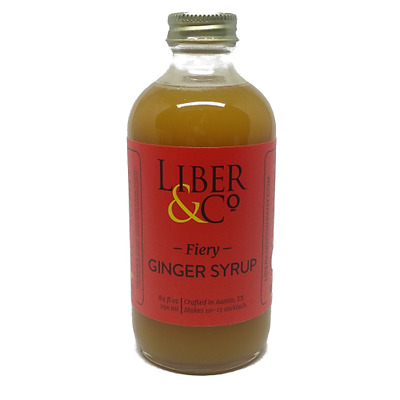 Liber & Co Fiery Ginger Cocktail Syrup 8oz