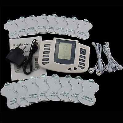 Therapy Massager Electrical Stimulator Full Body Muscle Acupuncture Machine +Pad