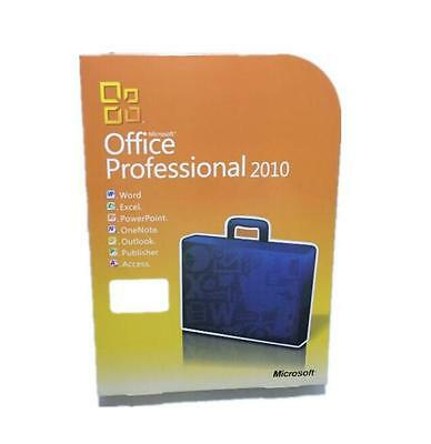 NEW Microsoft Office Professional 2010 full version 3PC's