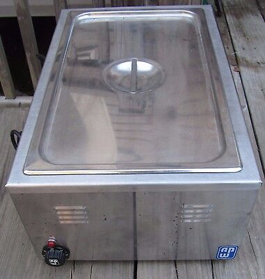 Counter Top Food Warmer 110V Electric, APW WV-3 Buffet Catering Concessions
