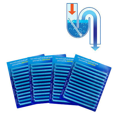 12 Pack Drain Cleaning Sticks Keep Drains Pipes Clear and Odor-Free Gadgets