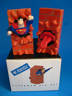 S&P Shakers - Warner Brothers 1998 DC Comics Superman Brick Wall ~  LAST ONE!!