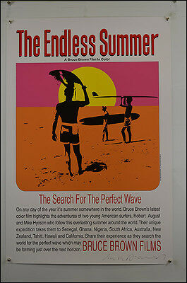 The Endless Summer (1966) Movie Poster (signed)
