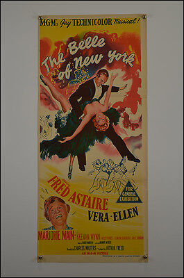 The Belle of New York (1952) Daybill Movie Poster
