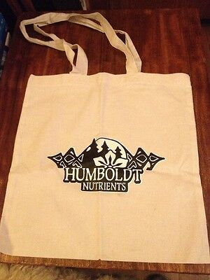 new Humboldt Nutrients TOTE BAG Cotton / Hemp  shopping Bag/ Tote 15x15