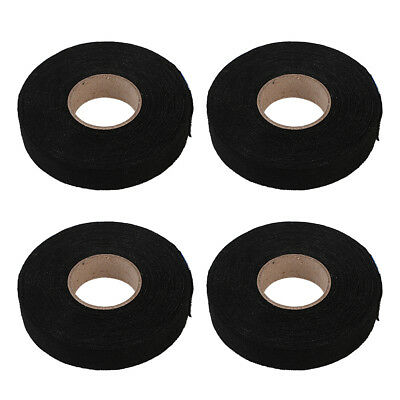 4x Car Wiring Harness Tape Heat-resistant Adhesive Cloth Fabric Tape Cable Looms