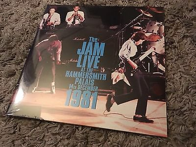 New Very Limited The Jam Live At The Hammersmith Palais Double Vinyl Freepost