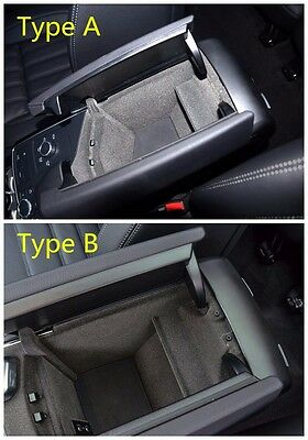 Armrest Organizer Storage Container Box For Mercedes Benz GLE Class W166 C292