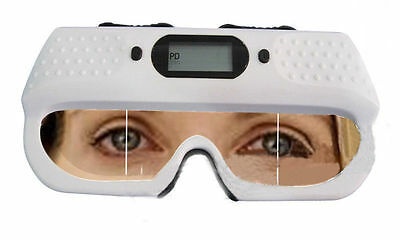 NEW Optical Digital PD Ruler Pupilometer Interpupillary Distance Scale Memory