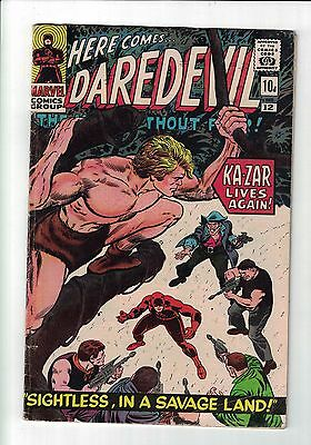 Marvel Comic DAREDEVIL 12 DATED JANUARY 1966.