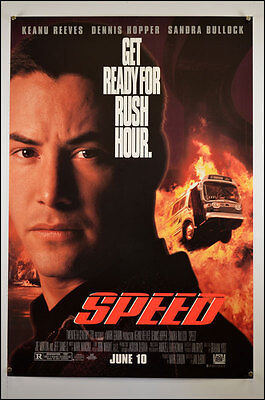 Speed (1994) One Sheet Movie Poster