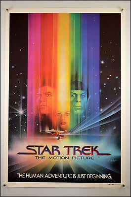 Star Trek The Motion Picture (1979) One Sheet Movie Poster
