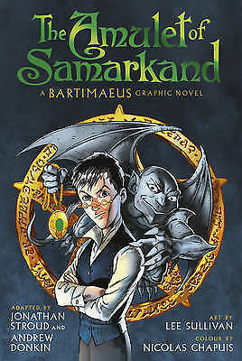 The Amulet of Samarkand Graphic Novel by Jonathan Stroud 9780552563703