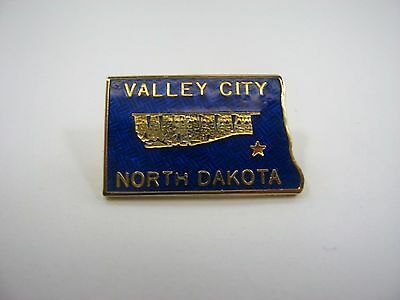 Vintage Collectible Pin: Valley City North Dakota