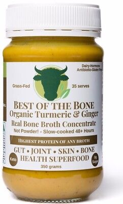 Organic Turmeric•Ginger•Black Pepper Best of the Bone - bone broth gelatin