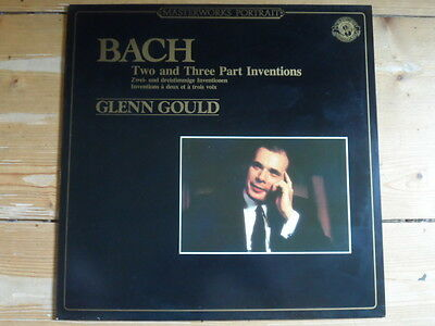 Glenn Gould-Bach-Two and Three Part Inventions-CBS Masterworks
