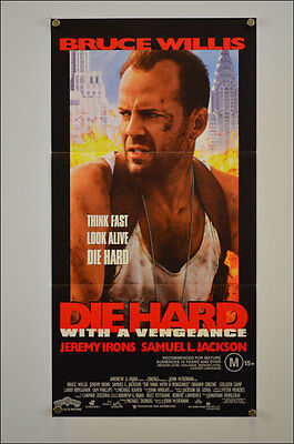 Die Hard With A Vengeance (1995) Daybill Movie Poster