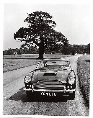 Aston Martin DB4 Coupe LHD Front View 1959-61 Original Press Photograph