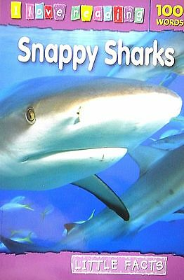 Snappy Sharks children's book new little facts