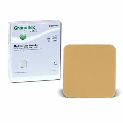 Granuflex Hydrocolloid Semi Permeable Dressings | Skin Wound & Burns Treatment