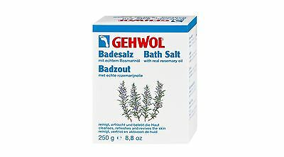 Gehwol Rosemary Bath Salts 10 x 25g | Cleansing Foot Bath | Natural Revitalising