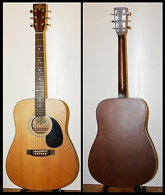 Early 1980's/90's TANGLEWOOD TW 400 SM acoustic guitar hand crafted in Korea