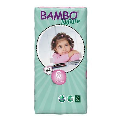 Bambo Nature Size 6 - XL (16kg - 30kg) - Pack of 44