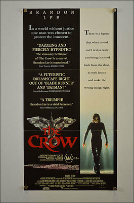 The Crow (1994) Daybill Movie Poster