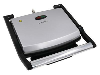 Laptronix Large Stainless-Steel Sandwich Press Panini Maker Health Low Fat Grill