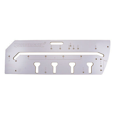 Multipurpose Router Jig - Kitchen Worktop Includes Aligning Pins and Instruction