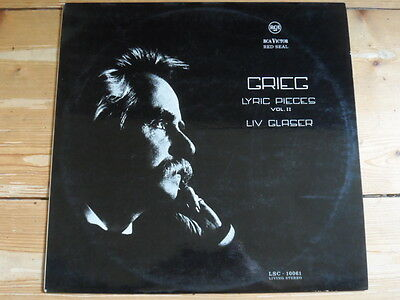 Liv Glaser spielt Grieg-Lyric Pieces Vol.2-RCA Red Seal LSC-10061-Living Stereo