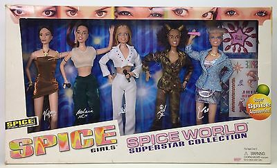 Spice Girls Spice World Superstar Collection 5 Dolls Nrfb