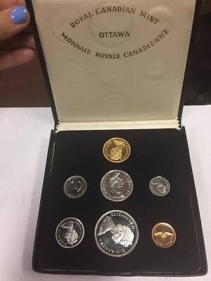 1967 Canadian 7 coin set