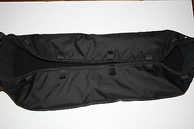 New Bugaboo Gecko Baby Bassinet Carry Cot Stroller Black Infant Newborn Fabric