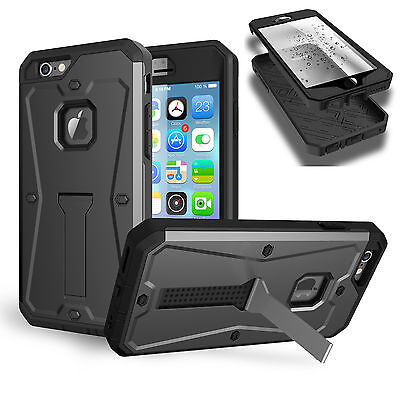 """New Luxury 360° Shockproof Hard Case Cover For Apple iPhone 6 6S Plus 5.5"""" B20"""