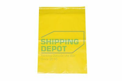 """100 10x13 Yellow Color Designer Poly Mailer Shipping Self Seal Bags 10"""" x 13"""""""