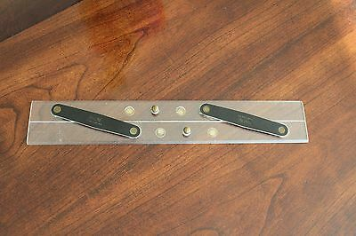 "Vintage Mayline 15"" Parallel Ruler"
