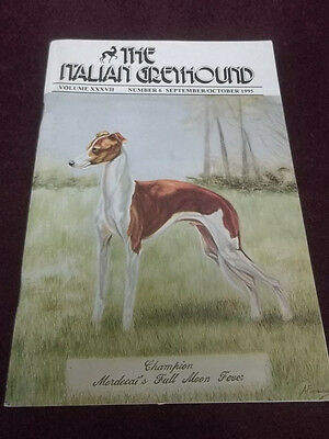 The Italian Greyhound September/October 1995 Magazine Dog Breeders & Competition