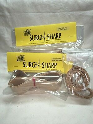 "2""x 72"" Surgi Sharp Sanding Belt Leather Polishing Belt"