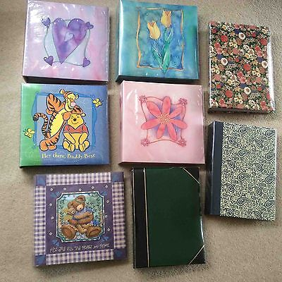 Photo Albums - bulk lot - 8 in all
