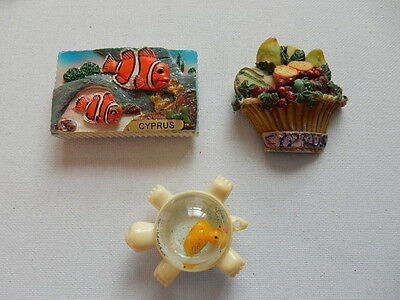 One Selected Souvenir Fridge Magnet from Cyprus