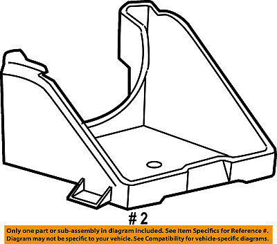 Ford Oem Battery Tray 9l1z10732a