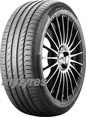 2x SUMMER TYRES Continental ContiSportContact 5 245/40 R18 93Y with FR AO