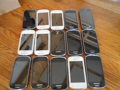 Lot of 15 Samsung Galaxy DiscoveR Cricket Smartphones  AS-IS