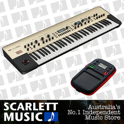 Korg KingKorg Analog Synth King-Korg w/3 Yrs Warranty + Free Kaoss Pad Mini