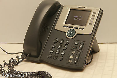 Cisco SPA525G2 5 Line IP Colour Phone with power adapter - Bluetooth, WiFi