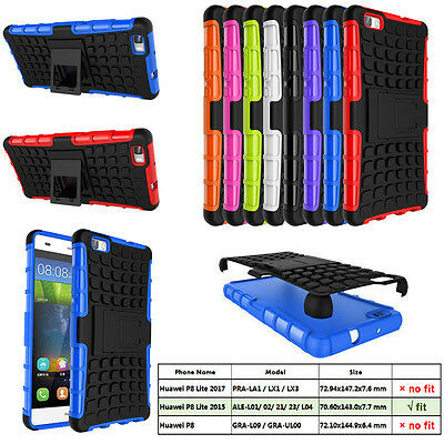 Heavy Duty Armor Hybrid Hard Case Cover for Huawei P8lite, ALE-L01 L02 L04