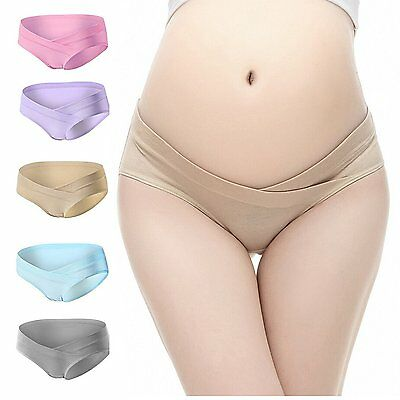 PIDAY Womens Under the Bump Cotton Maternity Hipsters Panties Multi Pack NEW