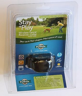 NEW PetSafe Stay + Play Wireless Fence Dog Receiver Collar PIF00-14288